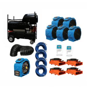 diesel bed bug heater, diesel heat treatment