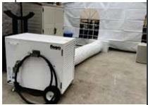 330,000 BTU Flagro Propane Tent Heater