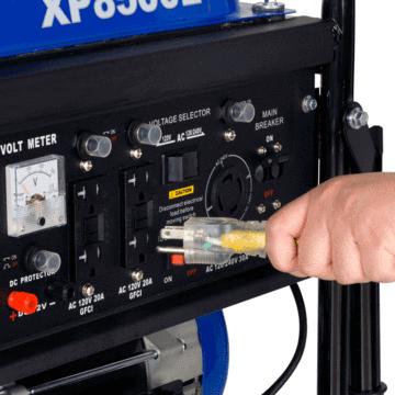 Duromax XP8500E Gasoline Portable Generator