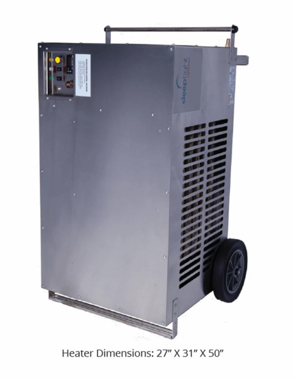 SleepTight 1500SD Indoor Propane Heater(68C/154F Max Space Temp)